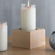 Longaberger Woodcrafts Maple Candleholder Block Wood