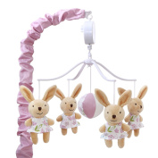 Leila Bunny Musical Mobile by Petit Tresor
