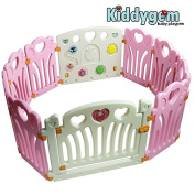 Kiddygem baby playpen - Angel wings and hearts