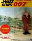 James Bond Vintage Gilbert Movie Figure # 6 GOLDFINGER