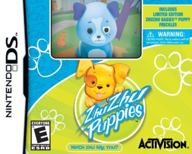 Zhu Zhu Puppies with Exclusive Freckles Zhu Zhu Puppy Toy - Nintendo DS by Activision