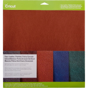 Cricut 2003573 Pebbled Faux Leather, Patina Sampler