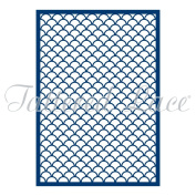 Tattered Lace Mini Clam Shell Panel Cutting Dies ETL226