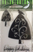 Holiday Clear Stamps - Set of 3 - #47624
