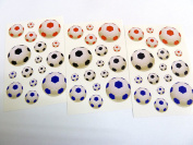 Minilabel Football Soccer Stickers Kids Labels For Craft Decoration Cardmaking