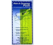 CM Designs CMD20006 Ruler Add-A-Quarter Plus, 15cm