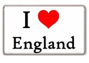 I LOVE ENGLAND - I . ENGLAND fridge magnet!!!