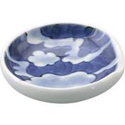 KamaKama Japanese Chopstick rest Porcelain/Size(cm) dia.6.5x1.7/ka087443