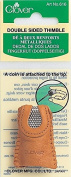 Brand New Leather Double-Sided Thimble- Brand New