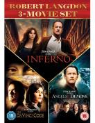 The Da Vinci Code/Angels and Demons/Inferno [Region 2]