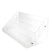 Fashionclubs 65 Bottles 5 Tier Acrylic Nail Polish Display Stand Rack Table Makeup Organiser Shelf