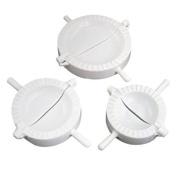 WINOMO 3pcs Kitchen Dumpling Press and Pierogi Maker Dumplings Mould Press