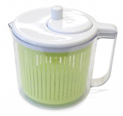 The Sharper Image® Single Serving Salad Spinner with Measuring Cup
