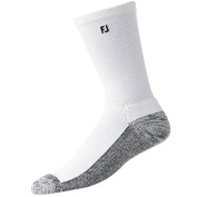 FootJoy Men's ProDry Extreme Crew Golf Socks - White