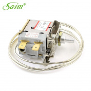 Saim AC 250V 6A 2 Pin Terminals Freezer Refrigerator Thermostat