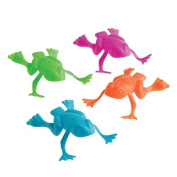 US Toy Jumping Frog Toy (Lot of 36), Assorted Colour by US Toy