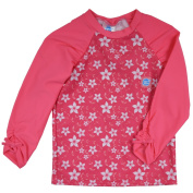 Splash About Sun Protection Rash Tops-Pink Blossom, 1-2 Years