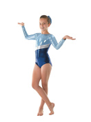 Tappers & Pointers GYM/10 Long Sleeve Shine Gymnastics Leotard - 2 Colours Available