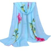 Ladies Shawl Chiffon Ninasill Scarf Scarves,16050CM