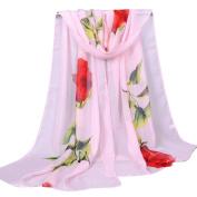 Fashion Women Rose Long Soft Wrap Ninasill Scarf ,16050CM