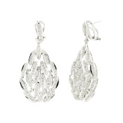 D'sire 18k White Gold Diamond (TDW 2.075 carats) Dangle Earrings