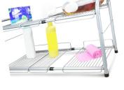 Surpahs Under Sink 2-Tier Expandable Cabinet Organiser Storage Shelf