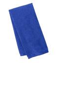 Port Authority TW540 Men's Microfiber Golf Towel Royal One Size