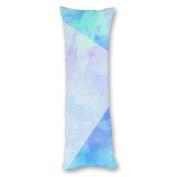 Yiuejiu Watercolour Print Body Pillow Cover Decorative Pillowcase 50cm x 140cm