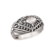 Silpada 'Regalia' Etched Sterling Silver Ring