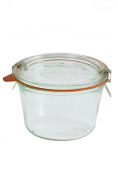 Weck 741 .25 Litre Mould Jars - 6 In A Set, With Lids, 6 Rings & 12 Clamps