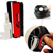 CARBON fibre RECORD BRUSH Bundled with 1 Anti-Static RECORD BUTLER Record Handler & Cleaner