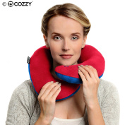 BCOZZY Chin Supporting Travel Pillow - Supports the Head, Neck and Chin in Maximum Comfort in Any Sitting Position. A Patented Product.
