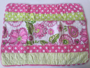 Cynthia Rowley Jillian One Standard Pillow Sham, Pink Green