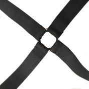 Toweter Adjustable Under Mattress Bed/Fitted Sheet Fastener,Crisscross Bed Sheet Straps Suspenders,Slipcover Fastener,Long Strap Clip Bands