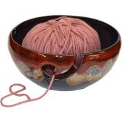 Yarn Bowl in Dreamsicle glaze