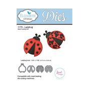 Elizabeth Craft Designs 1179 Ladybug Steel Cutting Die