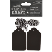 docrafts Chalk Craft Chalkboard, Tags and Twine