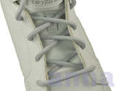 """Round Shoelace L/Grey 45"""" 7 Pr. Eyelets 5mm Thick Sneakers Shoelace"""