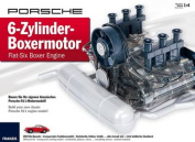 PORSCHE Flat-Six Boxer Engine Model Kit