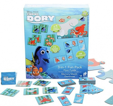 Finding Dory 3-in-1 Fun Pack