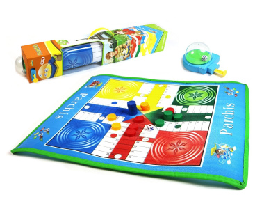 Roll-Out Parchis Foldable Game Mat – A Take on a Classic Game Favourite!