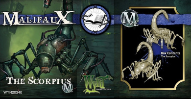 Malifaux: Arcanists - The Scorpius