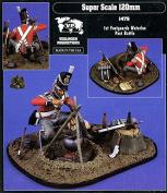 Verlinden 120mm 1st Footguards Waterloo Post Battle Resin Figure Kit #1479