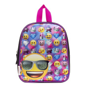 Emoji Heart Eyes Smiley Face Mini Backpack
