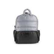 7AM Enfant Brooklyn Bag, Black/Cement
