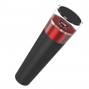 Nuovoware Vacuum Wine Bottle Stopper, Reusable All in One Wine Saver Stopper Cork Pump Sealer for Air Tight Wine Beer Champagne Storage , Red