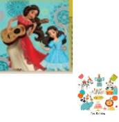 Elena Of Avalor Beverage Napkins 16 count Birthday Party Supplies