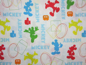 Disney Mickey Mouse Clubhouse Best Friends (FLAT SHEET ONLY) Size TWIN Boys Girls Kids Bedding