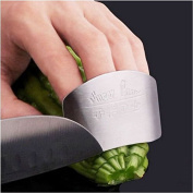New Stainless Steel Hand Guard Finger Protector Knife Slice Chop Safe Slice Tool#55301