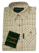Country Classics Kids Long Sleeve Country Cheque Shirt Balmoral